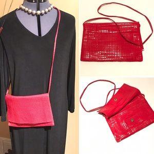 Retro Fire-Engine Red Handbag